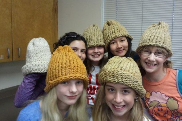 SA girl scouts